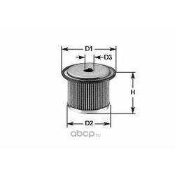 Топливный фильтр (Clean filters) MG095