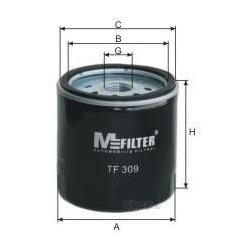 Фильтр масляный (M-Filter) TF309