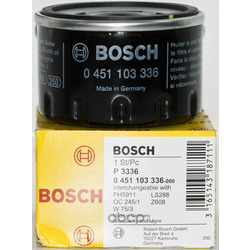 Фильтр масляный (Bosch) 0451103336