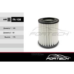 Фильтр воздушный (Fortech) FA108
