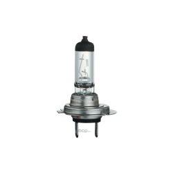 Лампа накаливания H7 (PX26d), 12В 55Вт, Vision +30%, блистер (Philips) 12972PRB1