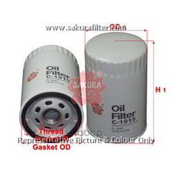 Фильтр масляный (Sakura) C1915