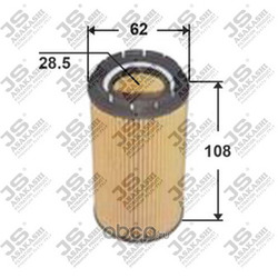 Фильтр масляный элемент (JS Asakashi) OE9301