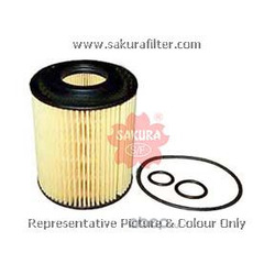 Фильтр масляный элемент (Sakura) EO1601
