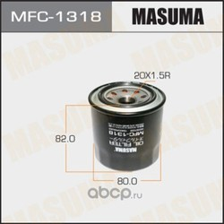 Фильтр масляный (Masuma) MFC1318