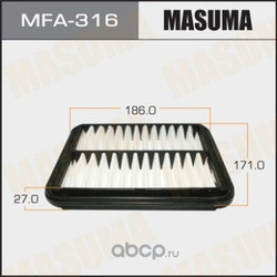 Фильтр воздушный (Masuma) MFA316