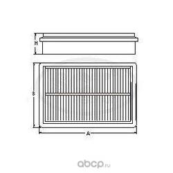 Воздушный фильтр (SCT) SB261