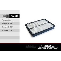 Фильтр воздушный (Fortech) FA182