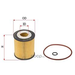 Фильтр масляный элемент (Sakura) EO1701