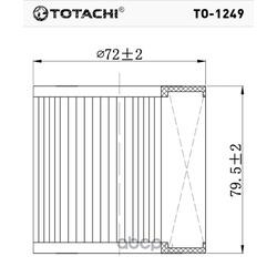 Масляный фильтр (TOTACHI) TO1249