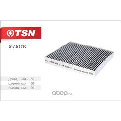 Фильтр салона угольный (TSN) 97811K