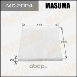 Фильтр салонный (Masuma) MC2004