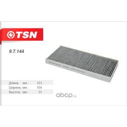 Фильтр салона угольный (TSN) 97144