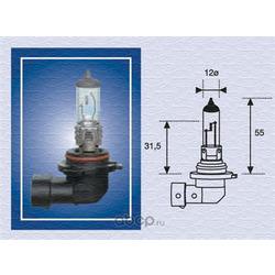 Лампа галогенная HB4 12V 55W P22d Standard (MAGNETI MARELLI) 002577300000