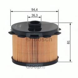 Топливный фильтр (Bosch) 1457431703