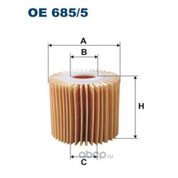 Фильтр масляный Filtron (Filtron) OE6855