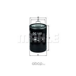 Масляный фильтр (Mahle/Knecht) OC110