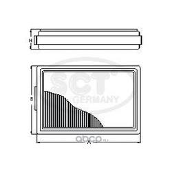 Воздушный фильтр (SCT) SB2175