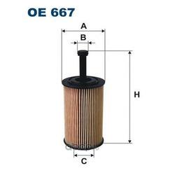 Фильтр масляный Filtron (Filtron) OE667