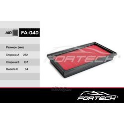 Фильтр воздушный (Fortech) FA040