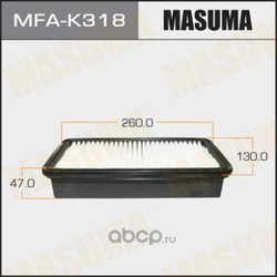 Фильтр воздушный (Masuma) MFAK318