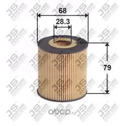 Фильтр масляный элемент (JS Asakashi) OE0028