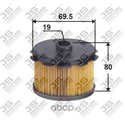 Фильтр топливный элемент (JS Asakashi) FE0003