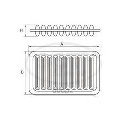 Фильтр воздушный (SCT) SB2145