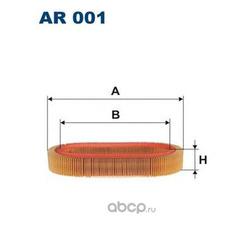 Фильтр воздушный Filtron (Filtron) AR001