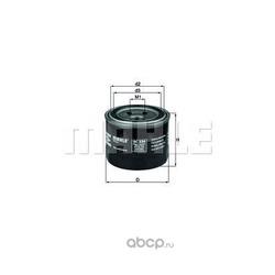 Масляный фильтр (Mahle/Knecht) OC230