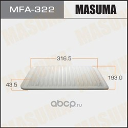 Фильтр воздушный (Masuma) MFA322