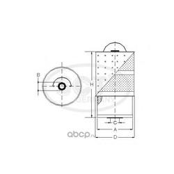 Масляный фильтр (SCT) SF502