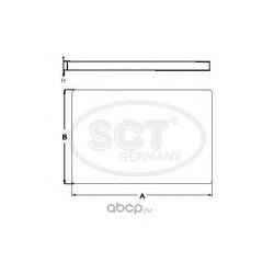 Салонный фильтр (SCT) SA1205