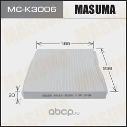 Фильтр салонный (Masuma) MCK3006
