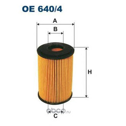 Фильтр масляный Filtron (Filtron) OE6404