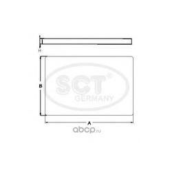 Фильтр, воздух во внутренном пространстве (SCT) SA1222