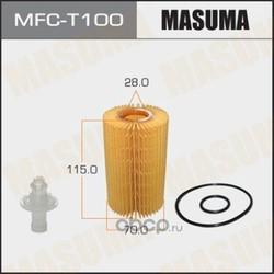 Фильтр масляный (Masuma) MFCT100