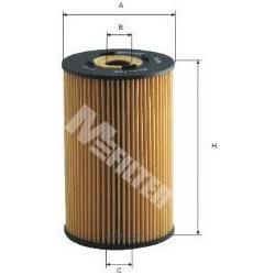 Фильтр масляный (M-Filter) TE606