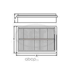Воздушный фильтр (SCT) SB2201
