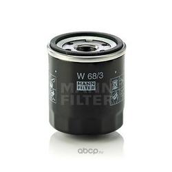Фильтр масляный двигателя (MANN-FILTER) W683