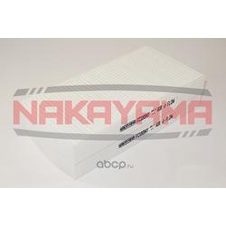 Фильтр салона (к-кт 2 шт) HONDA CIVIC 01-05, CR-V (NAKAYAMA) FC188NY