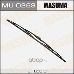 "Дворник MASUMA 26"", крюк (650мм) (Masuma) MU026S"