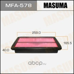 Фильтр воздушный (Masuma) MFA578