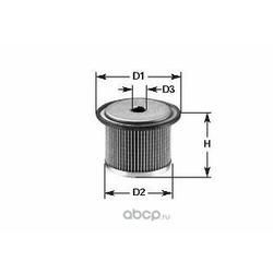 Топливный фильтр (Clean filters) MG083