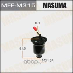 Фильтр топливный (Masuma) MFFM315