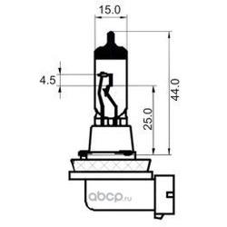 Лампа накаливания, противотуманная фара (SCT) 202624