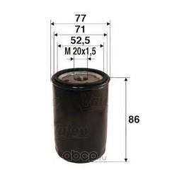 Масляный фильтр (Valeo) 586002
