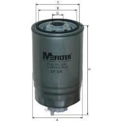 Фильтр топливный (M-Filter) DF326