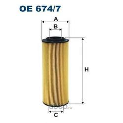 Фильтр масляный Filtron (Filtron) OE6747