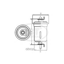 Фильтр топливный (SCT) ST762